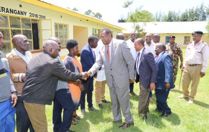Board enhances efforts to expand training opportunities, visits the proposed KMTC Cherangany