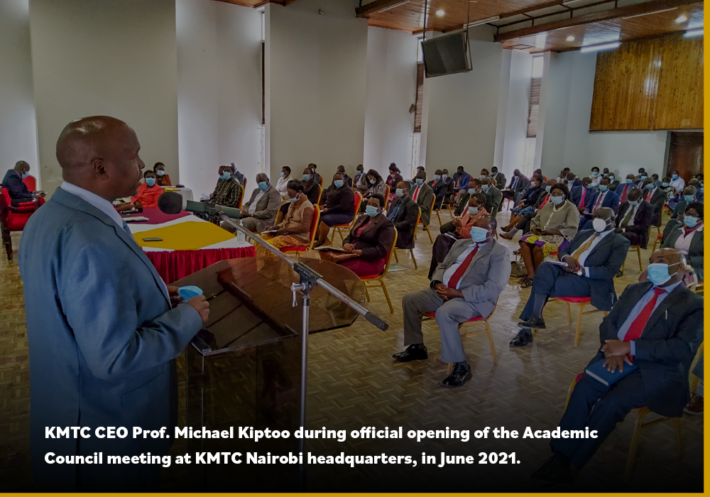 KMTC Holds Quarterly Academic Council Meeting