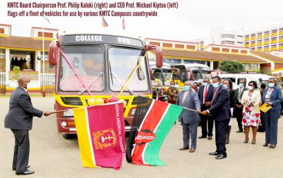 Six KMTC Campuses receive vehicles to enhance teaching and learning