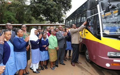 KMTC Karen campus receives a new bus