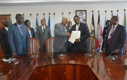 KMTC Signs MoU with Kericho County Government