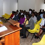 CEO addresses staff, calls for commitment in service delivery