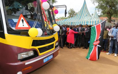 KMTC Migori receives new bus, set to get KShs 20m for construction and 50 acres for expansion