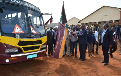 KMTC Chuka campus receives a new bus