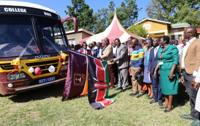 Yet another Campus earmarked for development as new bus is delivered