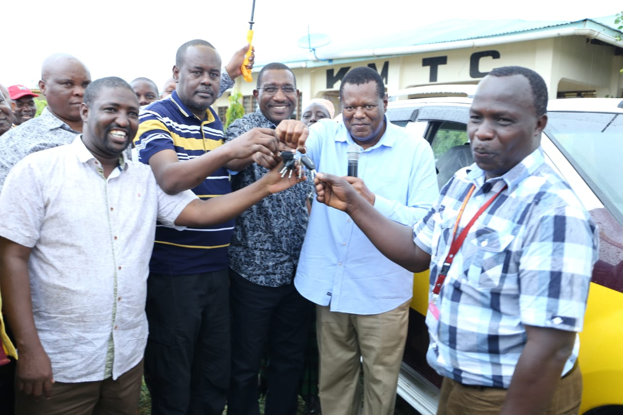 Tana River Campus Receives Vehicle as Local Leaders Pledge Overwhelming Support
