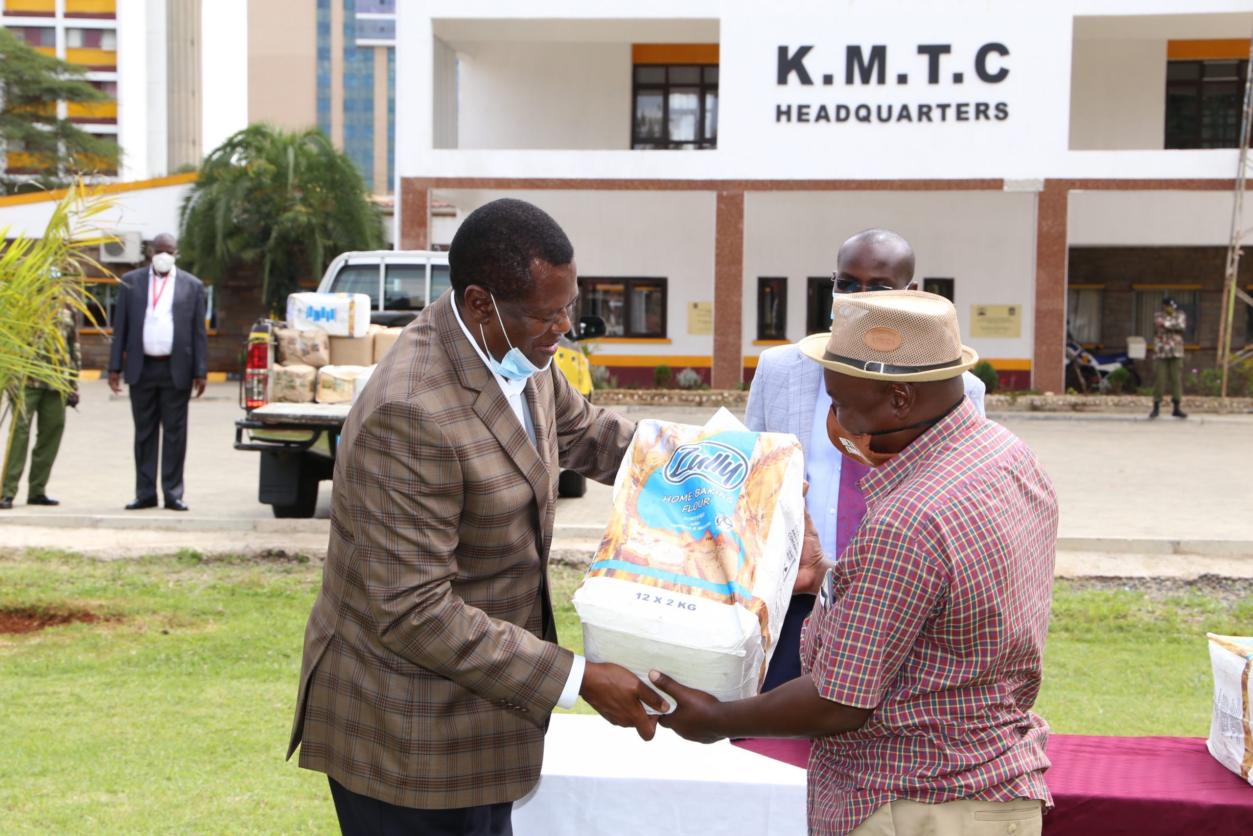 KMTC Nairobi Donates Food to Children Homes to alleviate effects of the COVID-19 pandemic